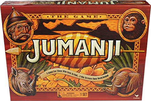Spin Master Games Cardinal Games Jumanji The Game Action Game, Multicolor