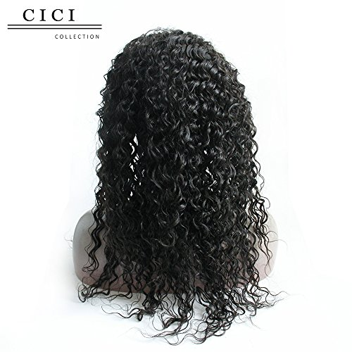 Marvelous Cici Collection Loose Curly Wave Lace Front Human Hair Wigs Short Hairstyles Gunalazisus