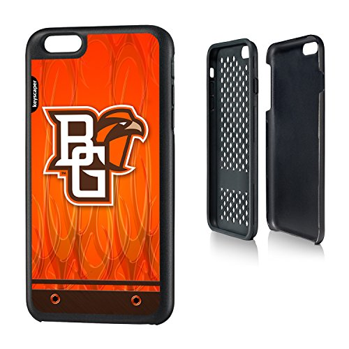 Bowling Green State iPhone 6 Plus & iPhone 6s Plus Rugged Case officially licensed by Bowling Green State University for the Apple iPhone 6 Plus by keyscaper® Durable Two Layer Protection Shock Absorbing (Apple Store Bowling Green)