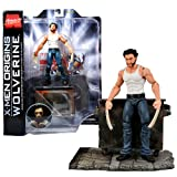 Diamond Select Toys Marvel Select Series Special Collector Edition 7 Inch Tall Action Figure Set : X-Men Origins WOLVERINE with