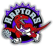 Toronto Raptors NBA Basketball Logo Vinyl Sticker 5 X 4 inches