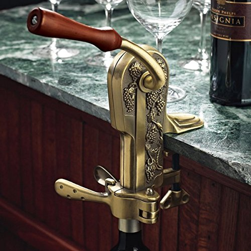 Legacy Antique Bronze Corkscrew, 8.5 inches high by Wine Enthusiast