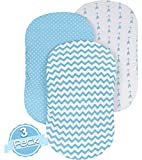Bassinet Sheet Set | REGULAR BLUE DOTS
