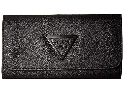 GUESS Women's Lauri SLG Slim Clutch Black One Size ()