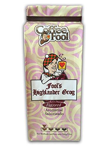 - The Coffee Fool Drip Grind Coffee, Fool's Highlander Grog, 12 Ounce