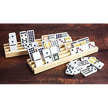 2887d132 Amazon.com: MasterPieces NFL Washington Redskins Double-Six Dominoes ...