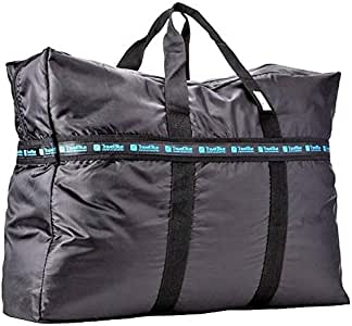 Travel Blue Bag For Unisex,Black - Canvas & Beach Tote Bags