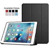 Ultra Slim Lightweight Smart-Shell Stand Case Cover with Translucent Frosted Back Protector for Apple iPad mini / mini 2 / mini 3 / 7,9 Inch with Magnetic Auto Wake & Sleep Black MMOBIEL
