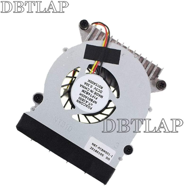 DBTLAP Fan Compatible for Foxconn NT510 NT-510 NT410 NT425 NT435 NT-A3700 AJBOX-N NFB61A05H F1FA1 NT330i NT535 CPU Cooling Fan with heatsink