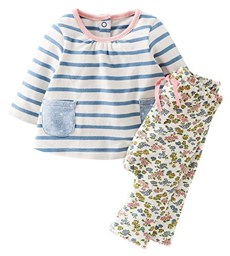 Fiream Girls Autumn Cute Print Long Sleeve Clothing Set(20060TZ,2T)