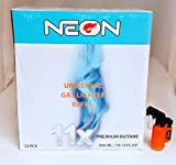 12 Cans of Neon 11x Ultra Refined Butane Fuel Lighter...