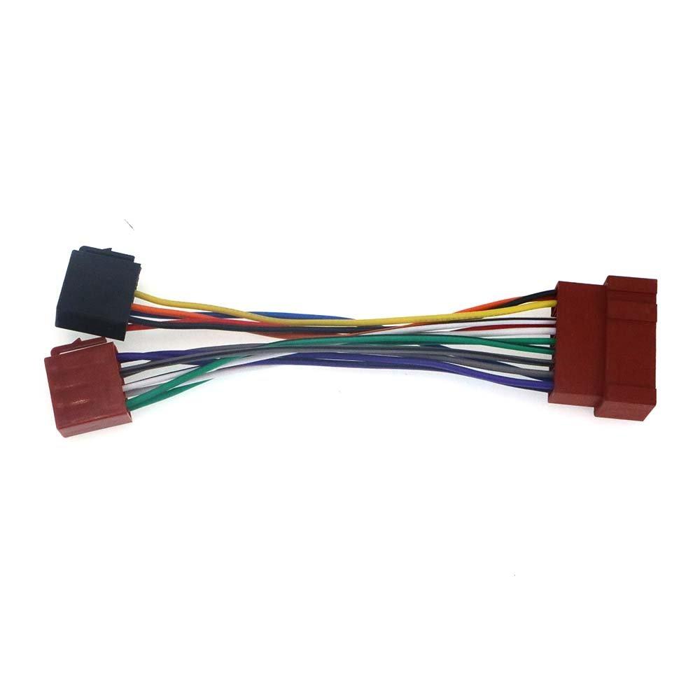 autostereo 12–018ISO Cable de audio Conector de arnés adaptador de radio para NISSAN 1999+ ISO para radio estéreo de coche estándar Autostereo TECH