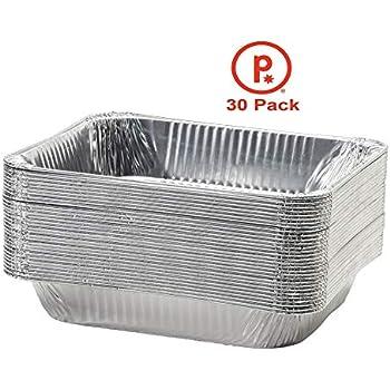 Amazon Com Aluminum Half Size Deep Foil Pan 30 Packs 9 X