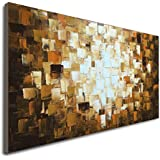 Seekland Textured Abstract Oil Paintings on Canvas Modern Art Decor for Wall