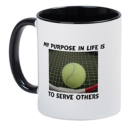 CafePress Serve Tennis Mug Unique Coffee Mug, Coffee Cup