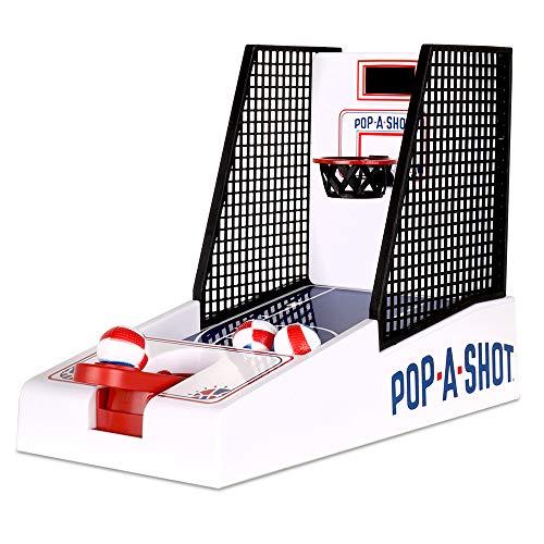 Basic Fun Pop-A-Shot Electronic Game (Hot Shot Basketball Arcade Game For Sale)