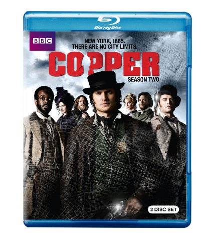 Blu-ray : Copper: Season Two (, Dolby, AC-3, 3 Pack, 3 Disc)