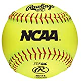 Rawlings NCAA Training Softball,  NC11S (Pack Of 12)
