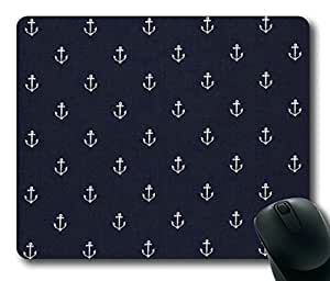 Armener Rectangle Mouse Pad With Anchor Pattern-1
