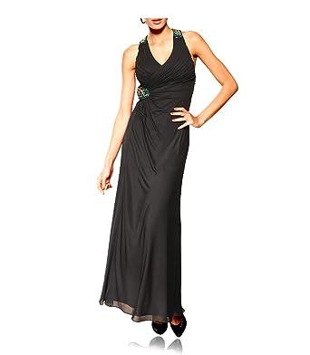 Stufen von Beste Discounter Designer Abendkleid mit Strass, schwarz: Amazon.de: Bekleidung