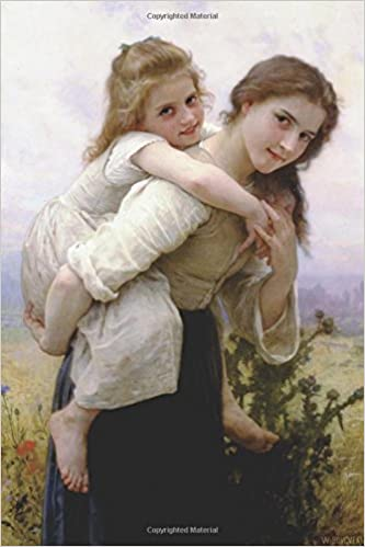 'Pleasant Burden' by William-Adolphe Bouguereau - 1895: Journal (Blank / Lined) (Art of Life Journals)
