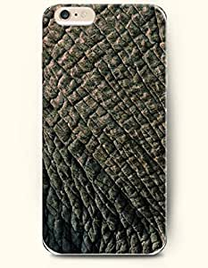 OOFIT New Apple iPhone 6 ( 4.7 Inches) Hard Case Cover - Elephant's Skin by icecream design