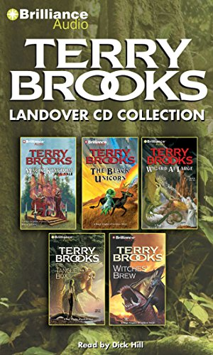 - Terry Brooks Landover CD Collection: Magic Kingdom for Sale-Sold!, The Black Unicorn, Wizard at Large, The Tangle Box, Witches' Brew