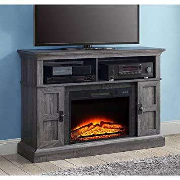 Amazon.com: Whalen Fireplace Media Console For TVs Up To 55 With ...