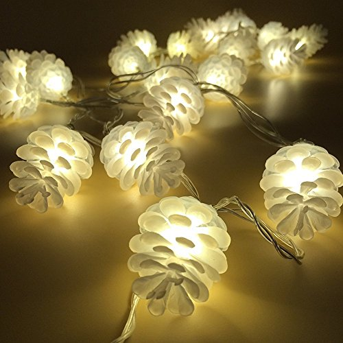 Pine Cone Outdoor Christmas Lights - 3