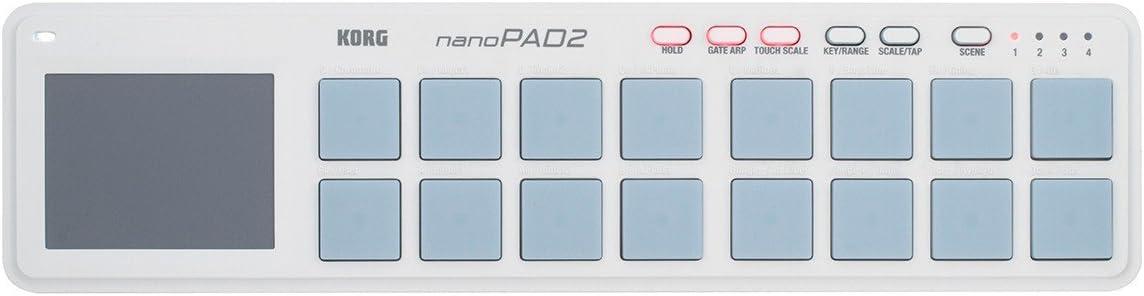 Black Korg nanoKONTROL2 Slim-Line USB Control Surface