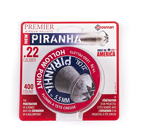 Crosman Premier .22 Hollowpt Pellets 14.3Grain 400Ct. LPPH2