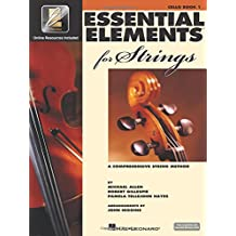 Essential elements for strings. Book 1 with EEi