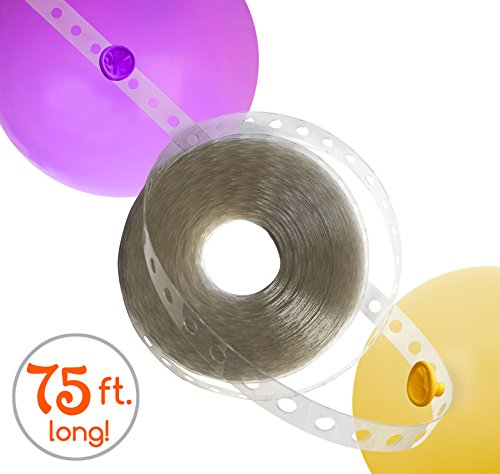 Balloon Arch Strip for Wedding and Party Decorations | LONG! 75ft | Easy to Use | Great Alternative to Balloon Arch ()