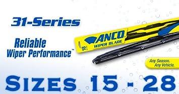 Anco Wiper Blades >> Amazon Com Anco Wiper Blade Series 31 28 Automotive