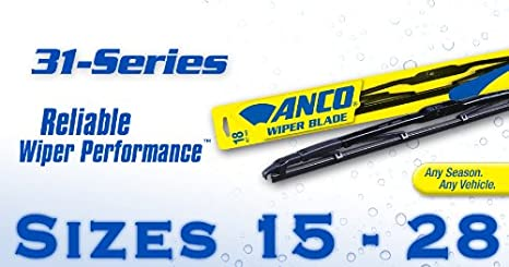 Anco Wiper Blades >> Amazon Com Anco Wiper Blade Series 31 28 Automotive