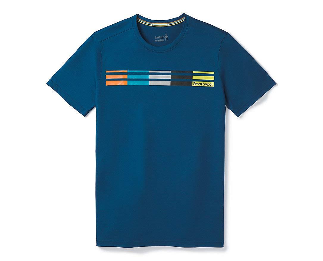Smartwool Herren Merino Sport 150 Flag Logo Tee T-Shirt