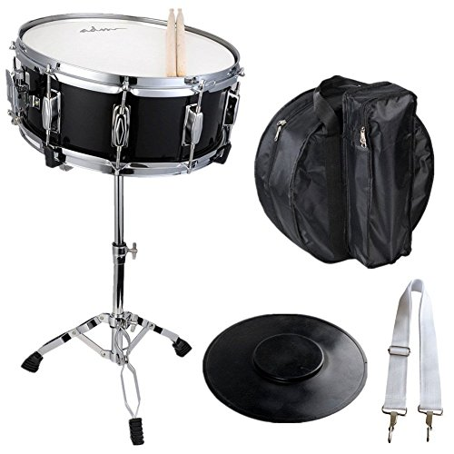(ADM Snare Drum Student Drum Set with Carry Bag Practice Pad and)