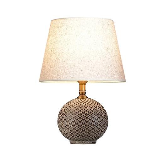 Lámpara de mesa antigua, de la tela escocesa brillantes Cerámica 2 ...