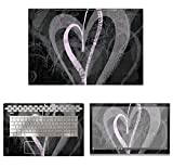 decalrus - Protective Decal Heart Skin Sticker for HP ENVY 17M-BW0013DX (17.3'' Screen) case cover wrap HPenvy17m_bw0013dx-141