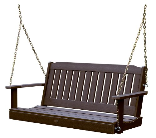 Highwood AD-PORL1-ACE Lehigh Porch Swing, 5 Feet, Weathered Acorn