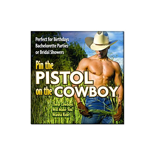 - Pin The Pistol On the Cowboy Game