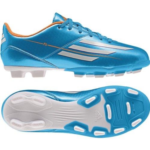 Adidas F5 TRX FG Kids Football Boots cams Blue, Sizes:EU/...