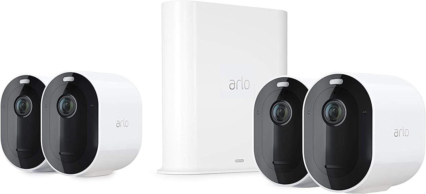 Arlo Pro 3 caméra de surveillance Wifi extérieure. caméra IP 2K HDR,...