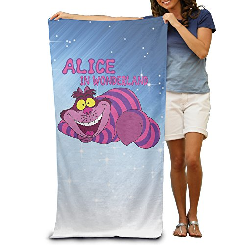 Johnny Depp Into The Woods Costume (KathyB Alice In Wonderland Stylish Fiber Reactive Beach Towel For Adult)