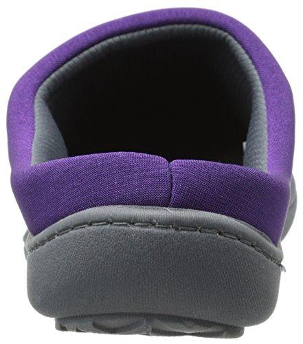 Isotoner Hoodback Flat Women's Matte Cassidy Purple Satin BOW14wUBq