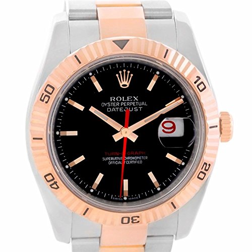 Rolex Turn-O-Graph automatic-self-wind mens Watch 116261 (Certified Pre-owned)