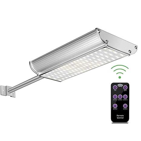 Farola Tmkoo De Exterior 70led Movimiento Ultra Focos Pared Y A Sensor Jardín Mando Solares Distancia1000lm Brillante Lámparas Con DE2H9I