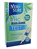 One Hundred (100) THC Marijuana Single Panel Drug Screen Urine Test Strips Kit - 99% Accurate