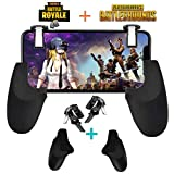 Fortnite PUBG Mobile Controller - SVZIOOG Mobile Game Controller(1Pair+1Gamepad),Cellphone Game Trigger Mobile Gaming Joysticks Android iOS (Fortnite PUBG Mobile Controller3)