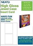 Neato PhotoMatte Jewel Case Inserts - 100 Sets